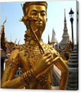 Gilded Statue Of A God At The Grand Canvas Print