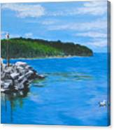 Gills Rock Canvas Print