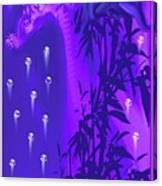 Gilly The Giraffe-by Sherri Of Palm Springs Canvas Print