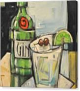 Gin Gimlet Canvas Print