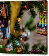 Ginger Ale On Christmas Tree 4392 Canvas Print