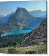 Ginnell Glacier Lake Canvas Print