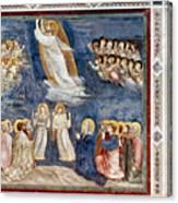 Giotto: Ascension Canvas Print