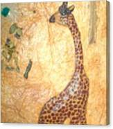 Giraffe   Sold  Canvas Print