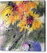 Girasoli Canvas Print