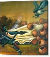 Girigiri Canvas Print