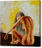 Girl Nude 1 Canvas Print