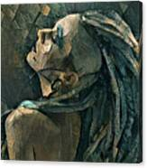 Girl With The Dreadlocks Canvas Print
