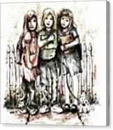 Girlfriends Canvas Print