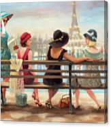 Girls Day Out Canvas Print
