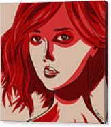 Giselle Canvas Print