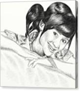 Gita Gutawa Young Singer From Indonesia Canvas Print
