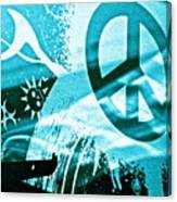 Give Peace A Shirt Canvas Print