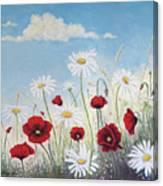 Give Me A Daisy Canvas Print