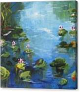 Giverny Lily Pond Canvas Print