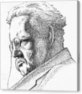 Gk Chesterton Canvas Print