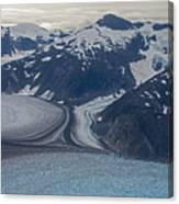 Glacial Curves Canvas Print