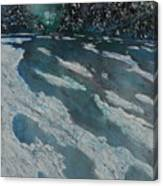 Glacial Moraine Canvas Print