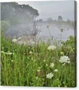 Glacial Park Pond Reflection Canvas Print