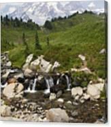 Glacial Runoff Canvas Print