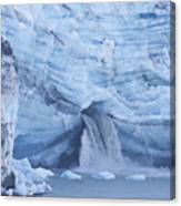 Glacial Waterfall Canvas Print