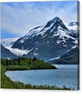 Glacier Alaska Lake  Canvas Print