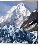 Glacier Bay Alaska Photograph Canvas Print