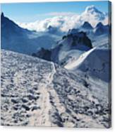 Glacier Blanche  Canvas Print