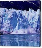 Glacier - Calving - Reflection Canvas Print