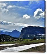 Glacier Country Park Canvas Print