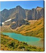 Glacier Cracker Lake Panorama Canvas Print