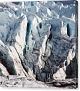 Glacier Detail Canvas Print