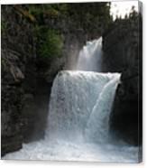Glacier Falls Canvas Print