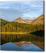 Glacier - Fishercap - Reflection Canvas Print