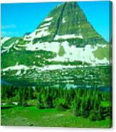 Glacier Formed Canvas Print