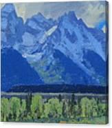 Glacier Gulch Canvas Print