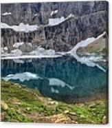 Glacier Icebergs Canvas Print