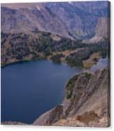 Glacier Lake 2 Canvas Print