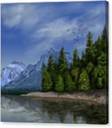 Glacier Naional Park Canvas Print