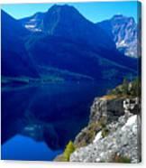 Glacier National Park #1 Canvas Print