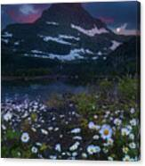 Glacier National Park At Dawn Canvas Print