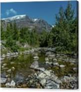 Glacier National Park-st Mary's River Canvas Print