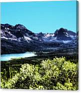 Glacier National Park Views Panorama No. 01 Canvas Print