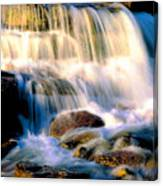 Glacier National Park Waterfall Canvas Print