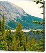 Glacier Np View Canvas Print