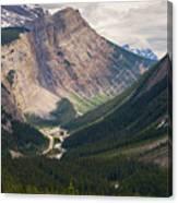 Glacier Road Canvas Print