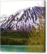 Glacier Waters Canvas Print