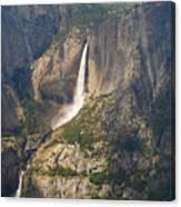 Glacierpoint Yosemitefalls Canvas Print