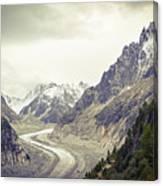 Glacierway Canvas Print