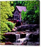 Glade Creek Grist Mill 004 Canvas Print